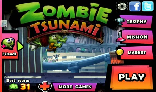Zombie Tsunami for PC Free Download-myapps4pc