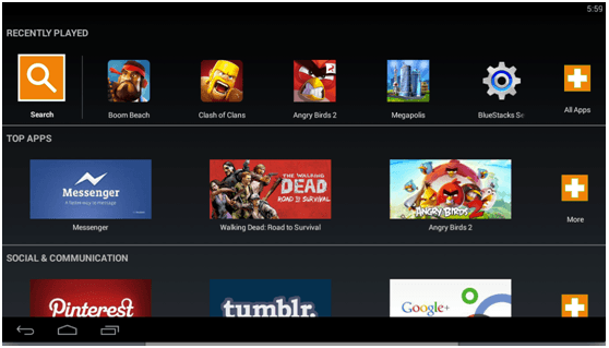 bluestacks-home-myapps4pc