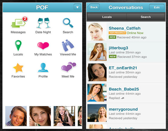 Plenty Of Fish Dating Position Iphone