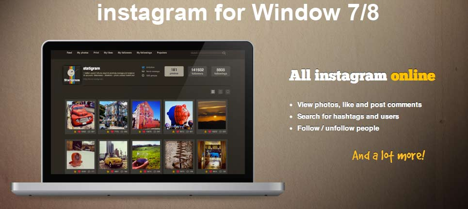 instagram download for windows xp